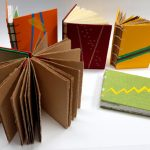 Coptic books with decorative covers