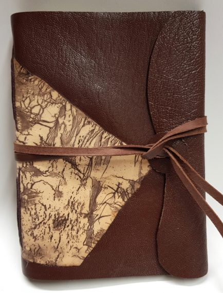 A6 brown with decorative panel at 1000 wide