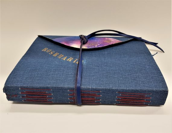 Bookcloth journal showing spine at 1280