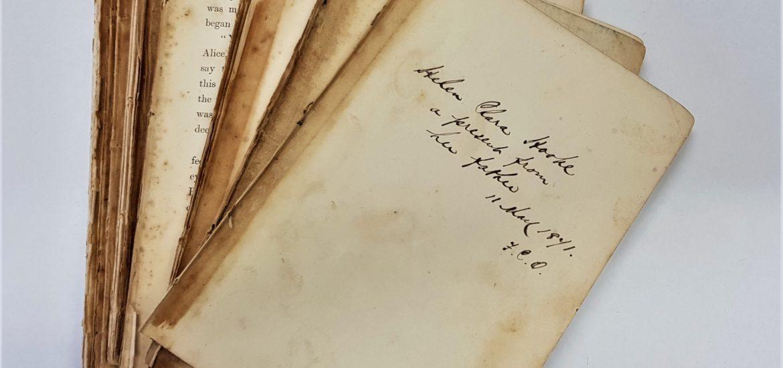 Alex book restoration
